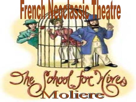 1550-1680 Influence started in France and spread throughout Europe and then the Globe. The French Neoclassic Period was both tragic and comedic. The period.