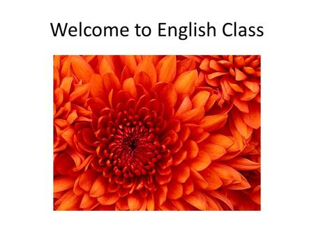 Welcome to English Class. Farina Yasmin Assistant Professor, English Technical Teachers' Training College, Dhaka.