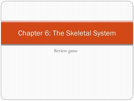 chapter 6 bone tissue Chapter 6 bones and skeletal tissue 1 1) the structure of bone tissue suits  the function which of the following bone tissues is adapted to support weight and .