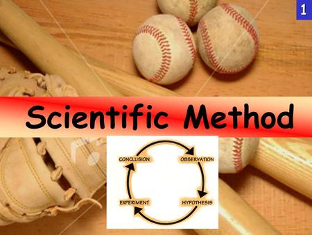 Scientific Method1. . 1.Activity carried on by humans that is designed to discover information about the natural world. 2.Organized inquiry into the natural.