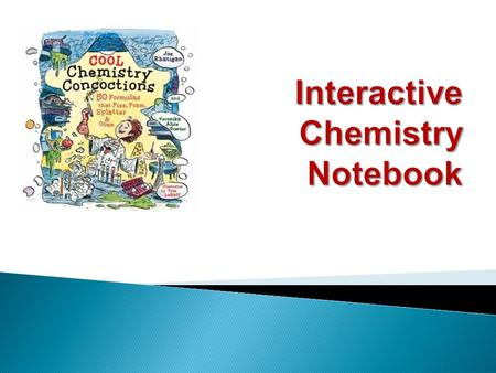 Chemistry Interactive Science Notebook Your name Your class.