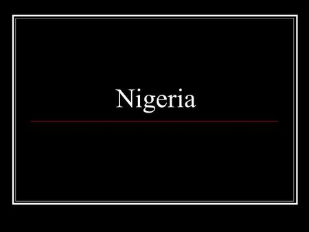 Nigeria. Population #1 ranked African nation in population Only African nation with over 100 million people Only African nation ranked among the top ten.