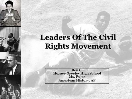 an introduction to the civil rights era and the importance of malcolm x in it Teachers and learners should note that there are many links on this site which deal with the depth and breadth of the black consciousness movement in south africa.