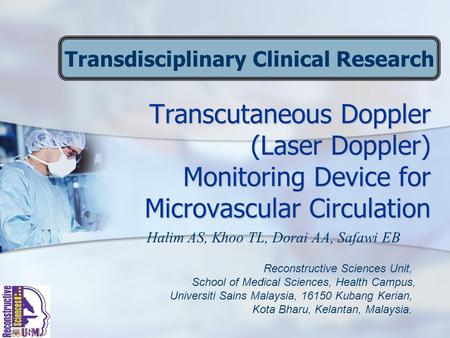 Transdisciplinary Clinical Research