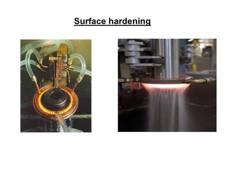 Surface hardening. Chemical heat treatment changes of the chemical composition to get different properties of surface layer as in core of the piece –