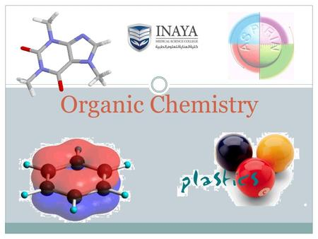 Organic Chemistry New Way Chemistry for Hong Kong A-Level Book 3A2 2 Course Name: Organic Chemistry for Medical Students Course Code : CLS 232 Instructor.