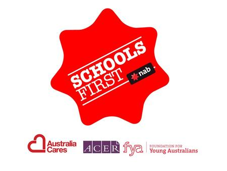 What is Schools First? New national initiative commencing 2009 Designed to improve student outcomes via strengthening school- community partnerships Open.