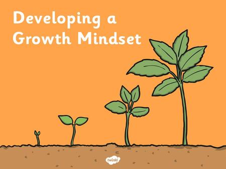 Mindset A mental attitude that determines how you will interpret and respond to situations. Today we are going to think about mindset. Your mindset is.