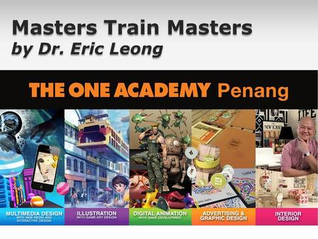 Masters Train Masters by Dr. Eric Leong. ericleongx2 ericleong2 Follow me on: