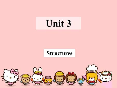 Unit 3 Structures. The Infinitive The to-infinitive can be used alone or as part of an infinitive phrase and the to-infinitive can serve as the subject,