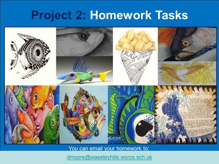 Line through a Scraper Board In this project… Project 2: Homework Tasks You can  your homework to: