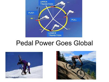 Pedal Power Goes Global