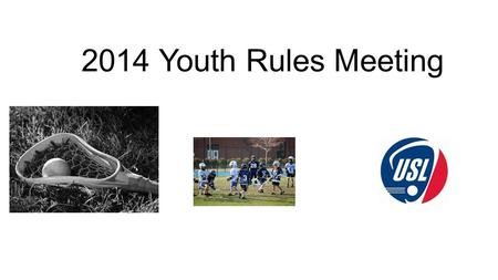 2014 Youth Rules Meeting. Wally Petry SOLOA Youth/MS Assigner.