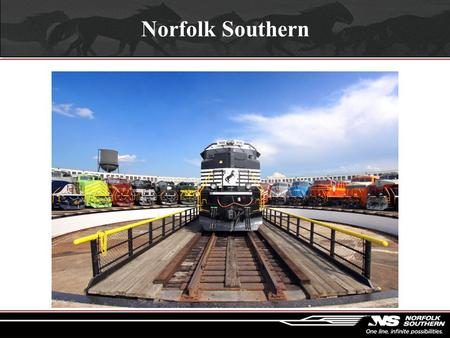 Norfolk Southern. Norfolk Southern Time Line  1827 – South Carolina Canal Railroad receives charter  1830 – Best Friend of Charleston begins service.
