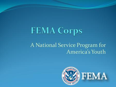 A National Service Program for America's Youth.