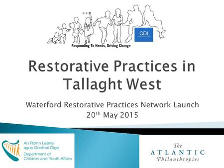 Waterford Restorative Practices Network Launch 20 th May 2015.