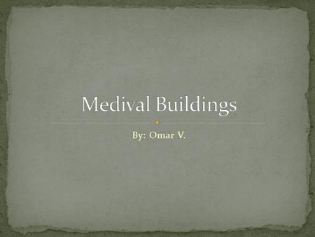 By: Omar V.. During the Middle Ages, the poor people built their homes from stones and bricks made of mud. Many people had fireplaces and chimneys to.