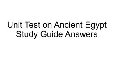 How ancient is Egypt?