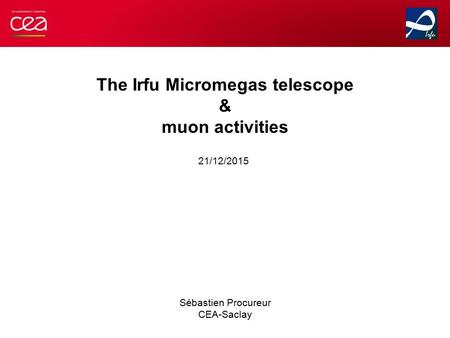 The Irfu Micromegas telescope