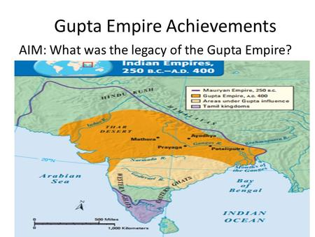 Gupta Empire Achievements