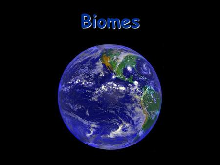 Biomes. Biome a large group of ecosystems that share the same type of climax community.
