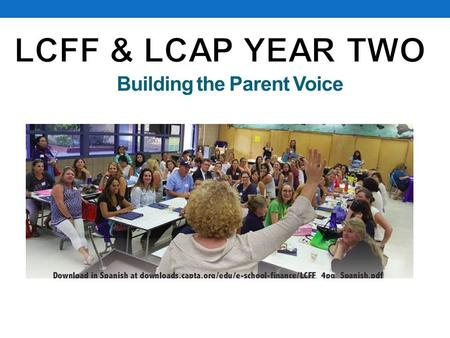 Building the Parent Voice