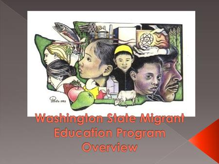 " Began in 1960s as part of civil rights consciousness; ""Harvest of Shame""  1965 Passage of ESEA  1966 amendment to create the migrant education program."