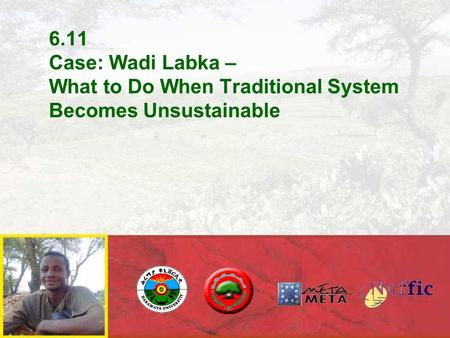6.11 Case: Wadi Labka – What to Do When Traditional System Becomes Unsustainable.