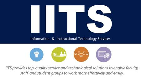 Using technology to teach? We provide assistance and classroom support.