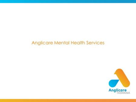 Anglicare Mental Health Services