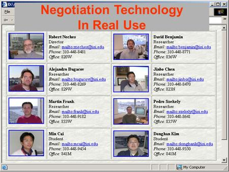 1 Who Are We Negotiation Technology In Real Use Users: MARINE AIR GROUP 13.