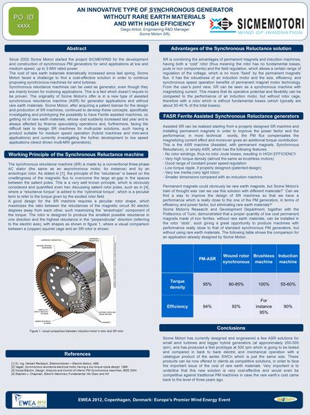 Sicme Motori has currently designed and engineered a few ASR solutions for small wind turbines and bigger hybrid generators (at approximately 200-500 rpm),