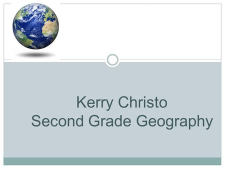 Kerry Christo Second Grade Geography. The Four Different Regions Northeast Midwest South West As divided by the US census bureau.
