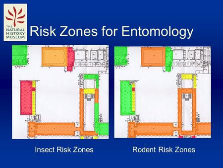 Risk Zones for Entomology Insect Risk ZonesRodent Risk Zones.