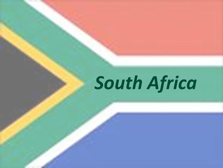 "South Africa. Motto: ""Unity in diversity"" What might this mean?"