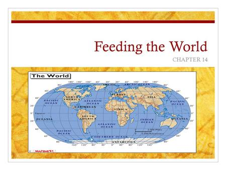 Feeding the World CHAPTER 14.