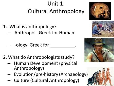 What Does an Anthropologist Do? - socialsciencecareers.org