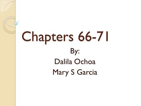 Chapters 66-71 By: Dalila Ochoa Mary S Garcia. Chapter 66: Measurement in Qualitative Research: I Semistructured Interviews: face-to-face interviews,