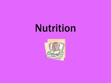Nutrition. Q. State the points a chef must consider when planning meals. Nutritionally balanced diet. Variety of colour, flavour and texture. Foods in.