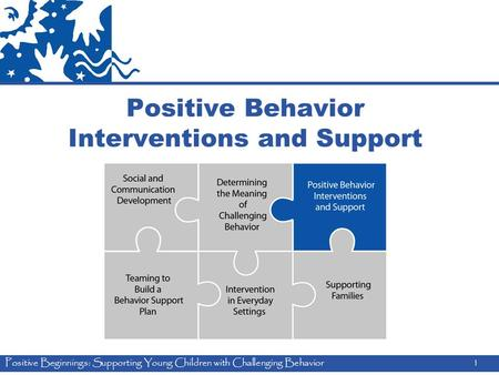 Positive Beginnings: Supporting Young Children with Challenging Behavior1 Positive Behavior Interventions and Support.