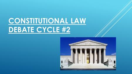 CONSTITUTIONAL LAW DEBATE CYCLE #2. STATE OF SETONIA (PETITIONER) V. THE ENVIRONMENTAL PROTECTION AGENCY (RESPONDENT)