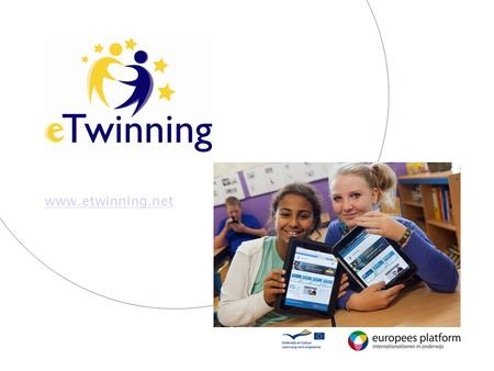 Www.etwinning.net. What is eTwinning? Enables teachers and students in 32 European countries to work together using ICT.