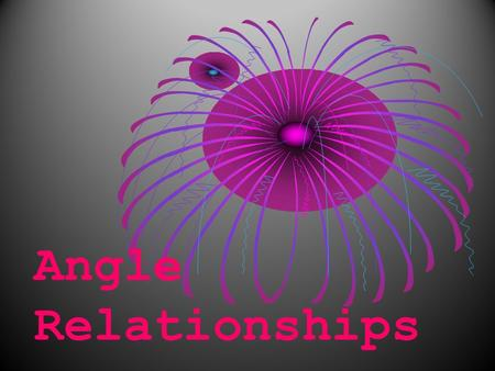 Angle Relationships. Vocabulary Transversal: a line that intersects two or more lines at different points. Transversal: a line that intersects two or.