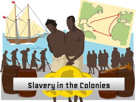 Slavery in the Colonies. Big Ideas of the Lesson 1.The English enslaved Africans and forced them to work in the colonies. 2.Slavery had terrible effects.