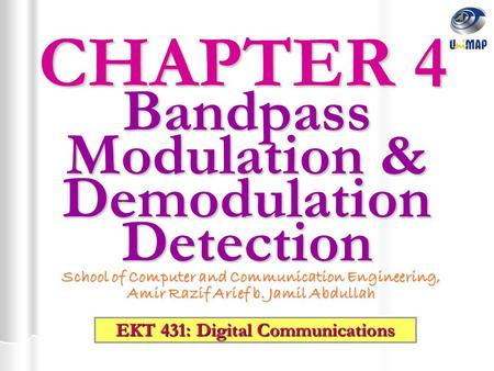Bandpass Modulation & Demodulation Detection