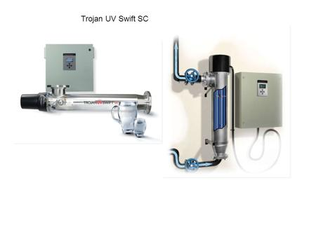 Trojan UV Swift SC. Introduction Designed to meet the needs of the small community, the TrojanUVSwift™SC is ideally suited for smaller flow applications.