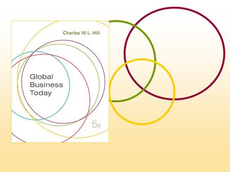 chapter Differences in Culture McGraw-Hill/Irwin Global Business Today, 5e © 2008 The McGraw-Hill Companies, Inc., All Rights Reserved. 3.