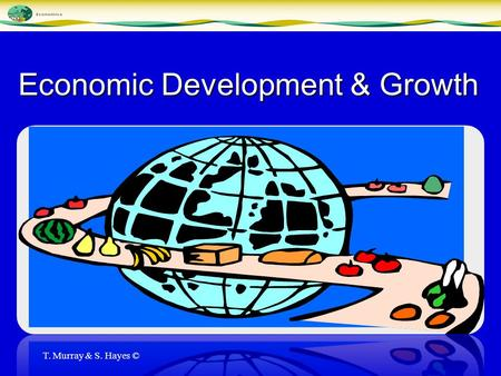 Economic Development & Growth T. Murray & S. Hayes ©