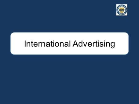 International Advertising. Introduction Integrated marketing communications (IMC) are composed of advertising, sales promotions, trade shows, personal.