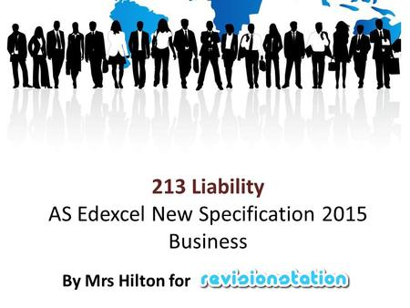 213 Liability AS Edexcel New Specification 2015 Business By Mrs Hilton for.